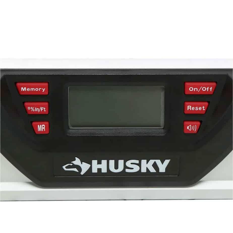 Husky laser level digital display