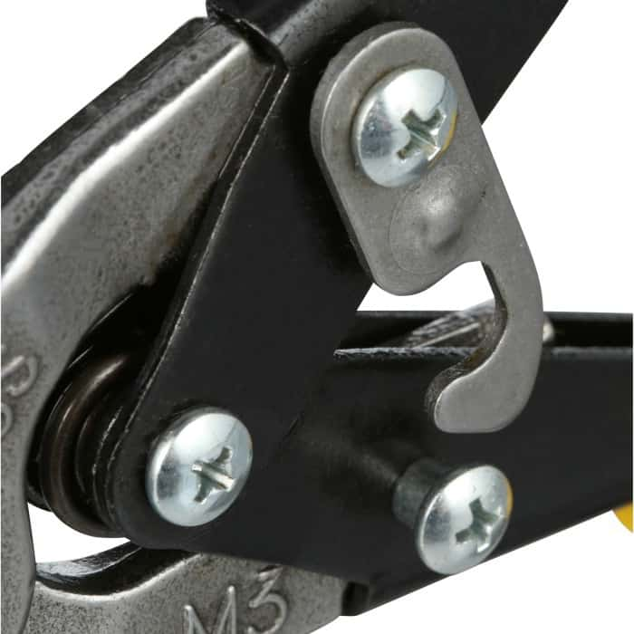 Wiss aviation snips locking latch