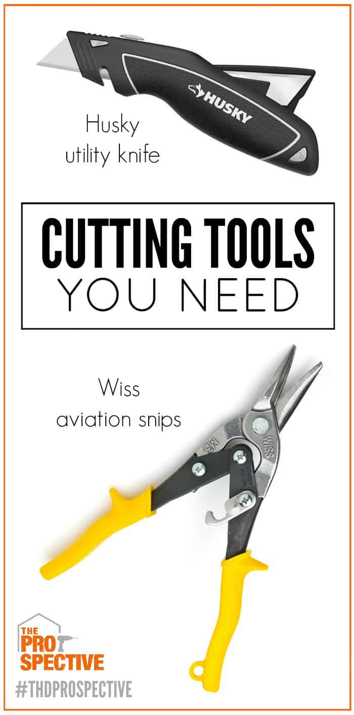 cutting tools you need