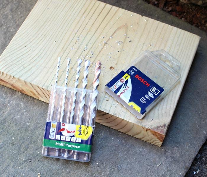 Bosch carbide drill bits 5 piece set