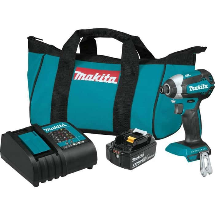 Makita impact driver 18V kit with battery