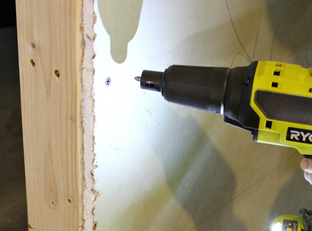 Ryobi drywall screw gun