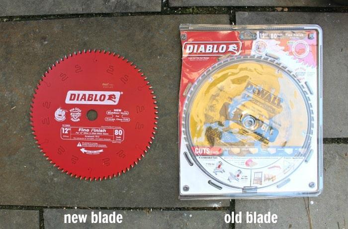diablo fine finish blade