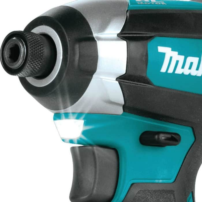 makita impact driver light