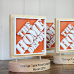 Scroll Saw Project: The Home Depot Logo Trophy
