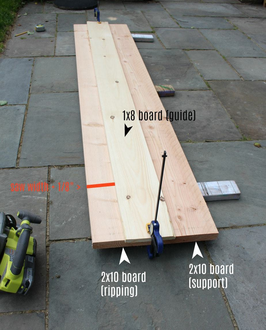 dining table ripping boards