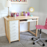 Build a Wood and Metal Desk