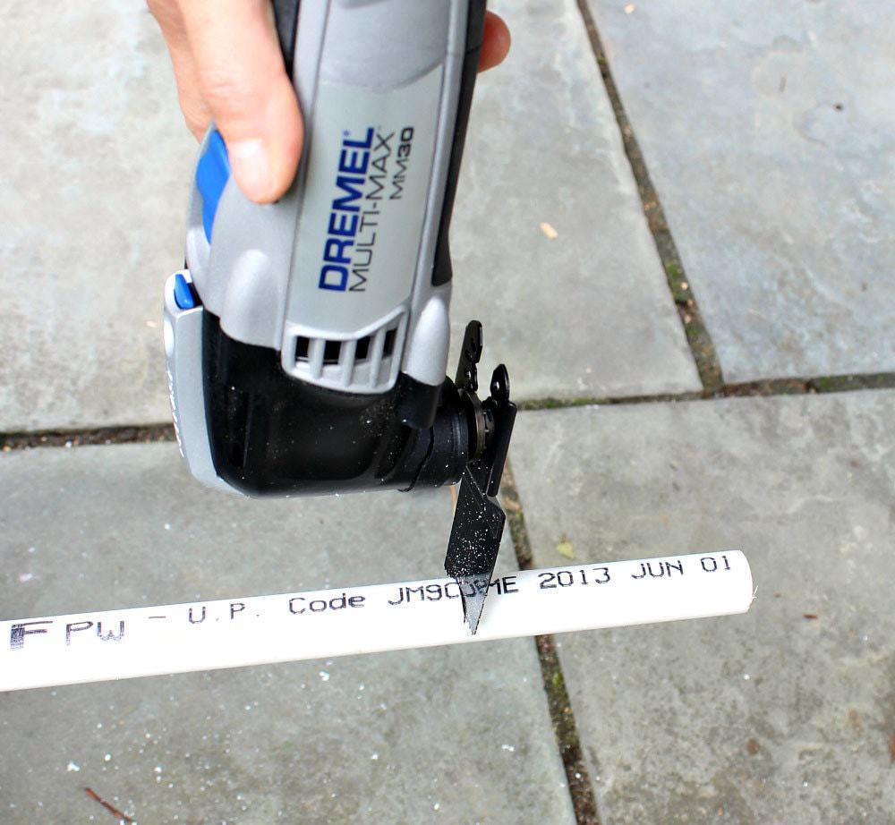 dremel accessory set cutting pvc