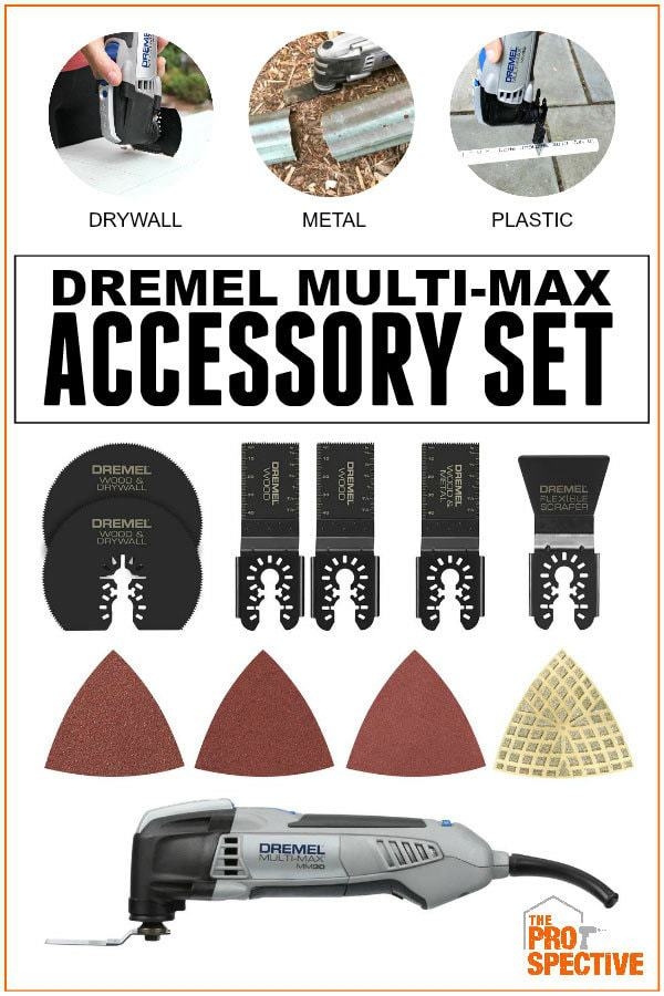 dremel multi-max accessory set