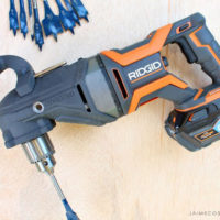 ridgid megamax right angle drill feature