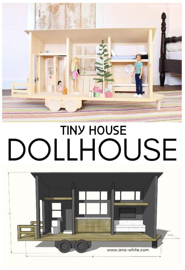 tiny house dollhouse free plans