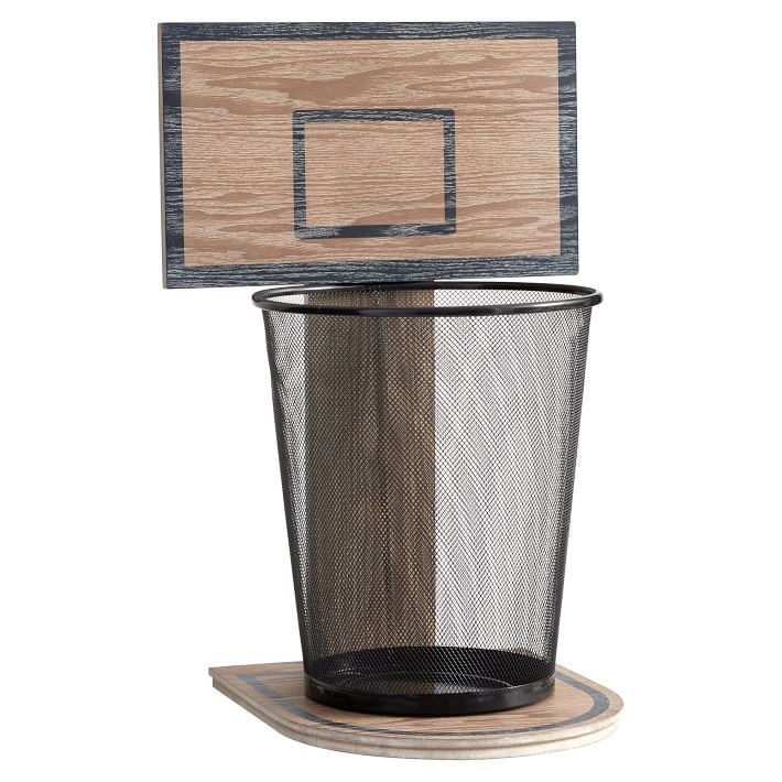 pb teen basketball hoop trashcan