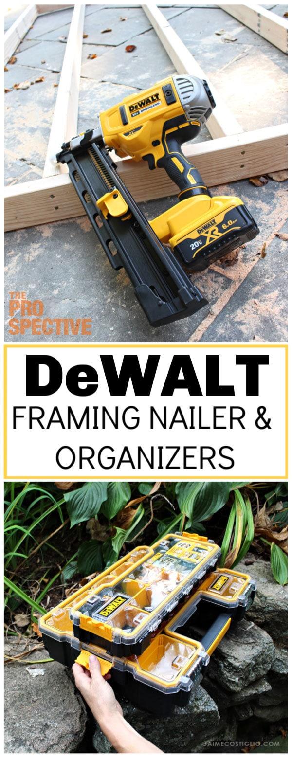 dewalt framing nailer and organizers review