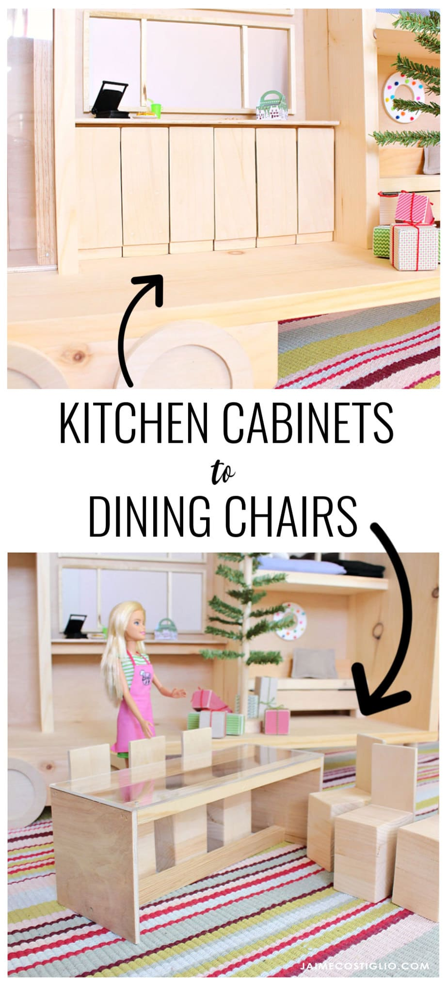 tiny house convertible cabinets to chairs