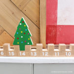 Easy Advent Countdown Calendar