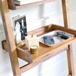 DIY Leaning Shelf for Entry or Vanity