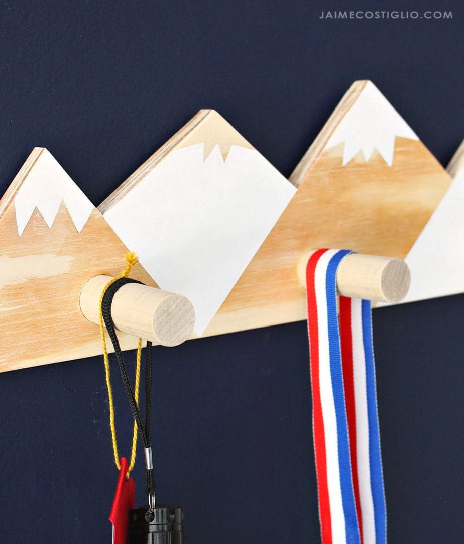 mountain style wall hooks