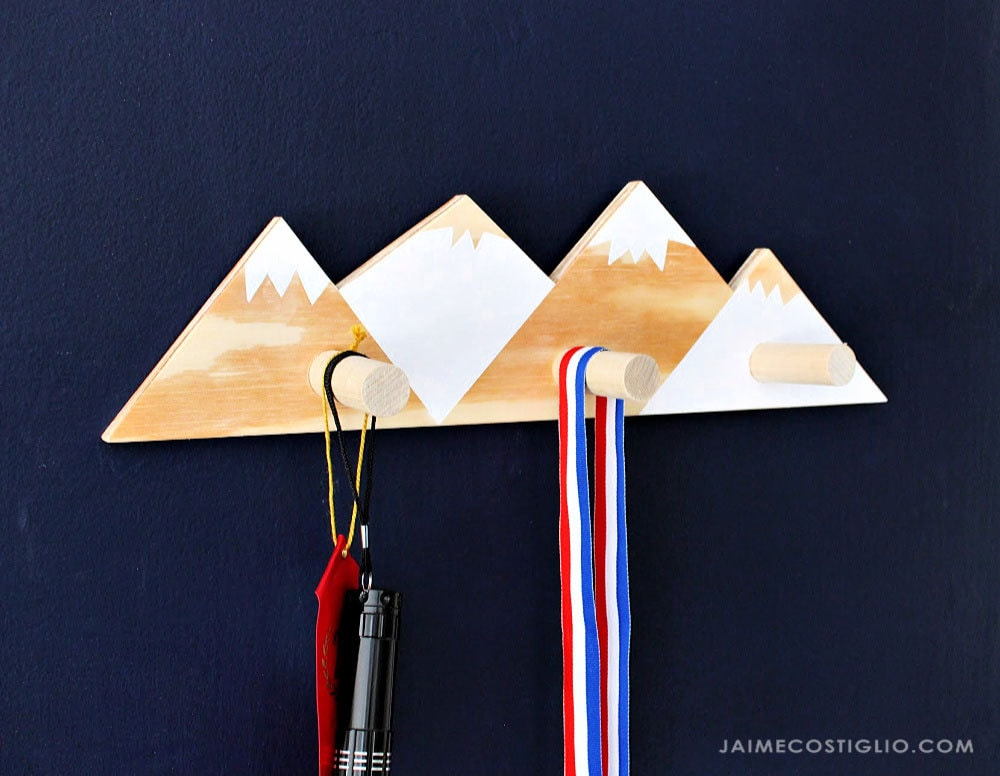 diy wood wall hooks