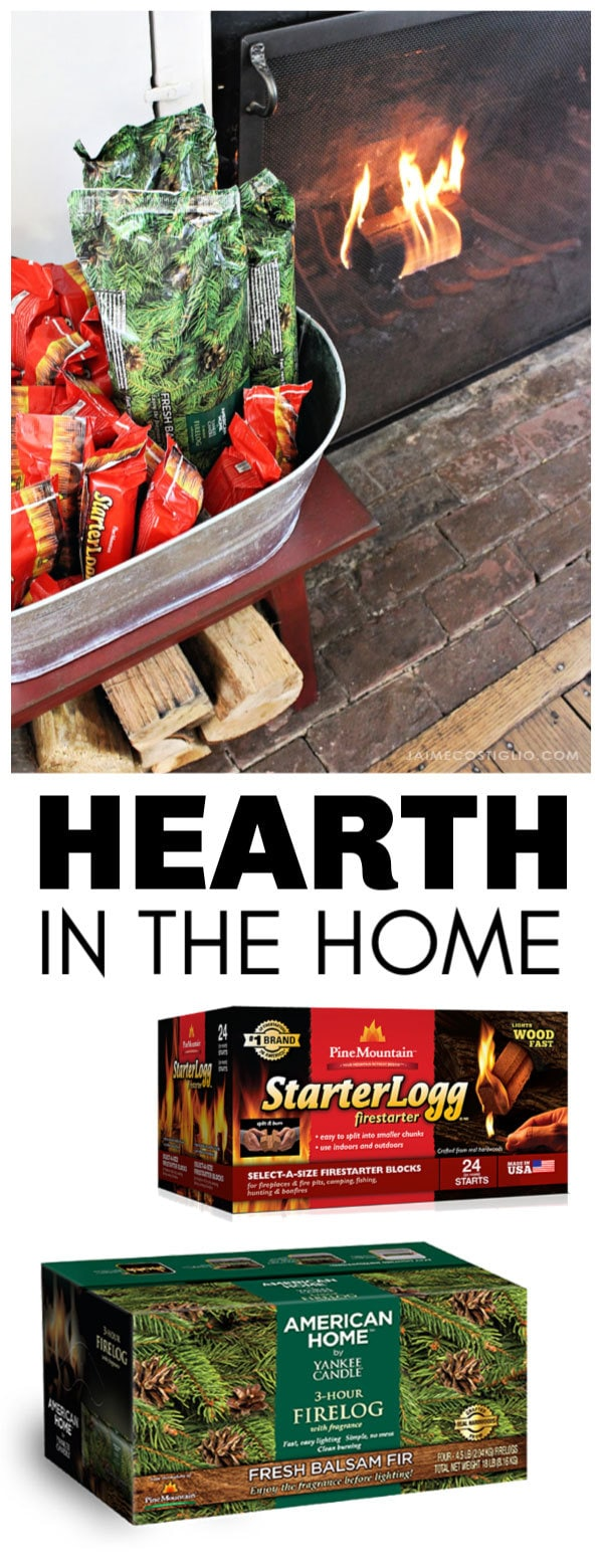 hearth in the home fire starter