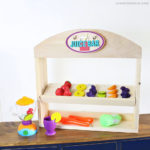 DIY Puppet Theater and Shop Stand in One