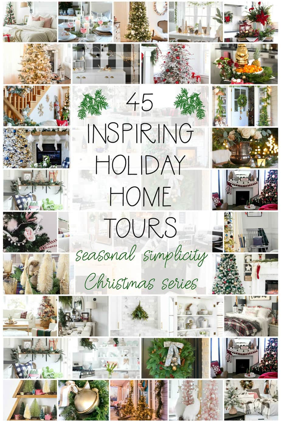 holiday home tours 2018