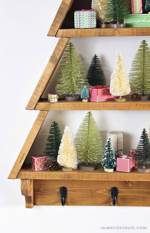 christmas 2018 bottle brush trees