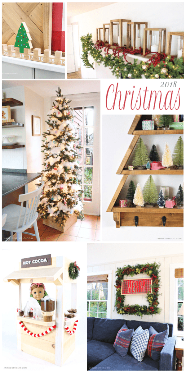 christmas 2018 project collage