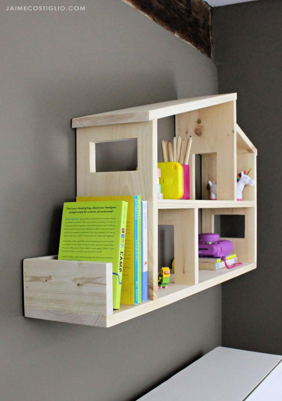 Diy Dollhouse Wall Shelf Jaime Costiglio