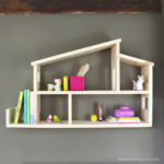 DIY Dollhouse Wall Shelf