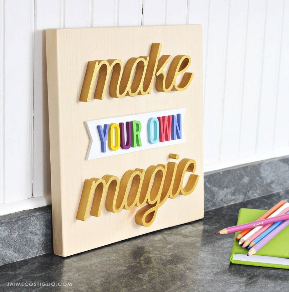 make your own magic sign