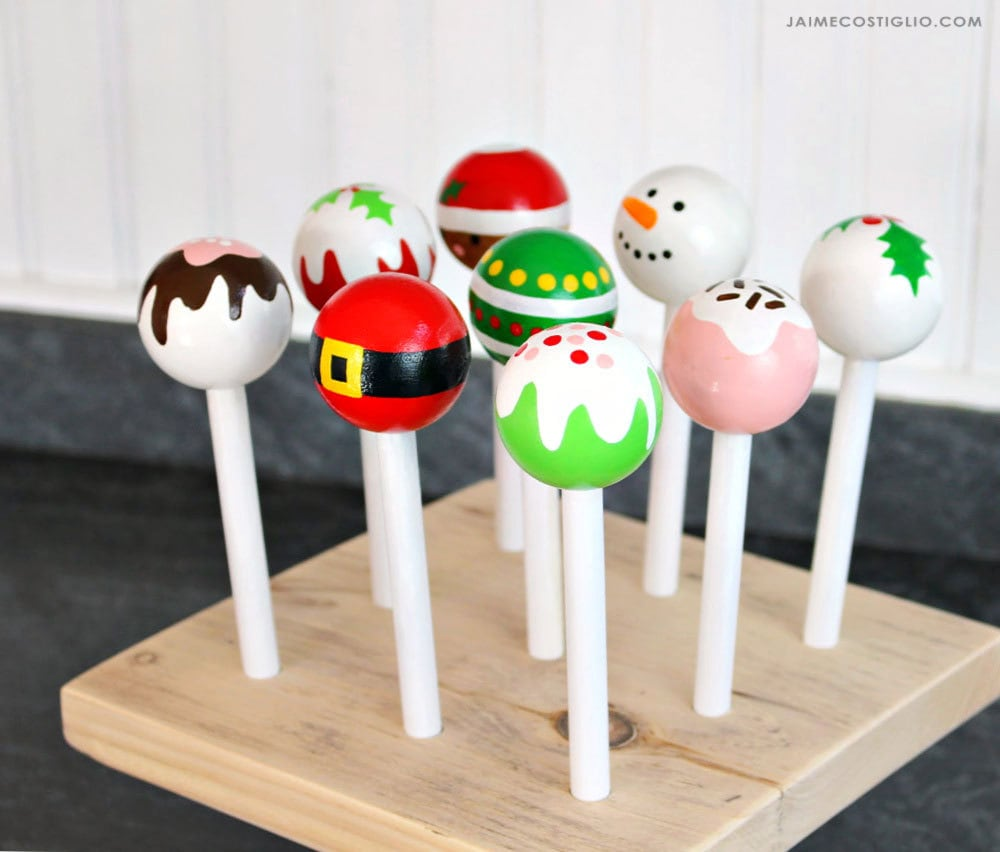 play cake pops with stand