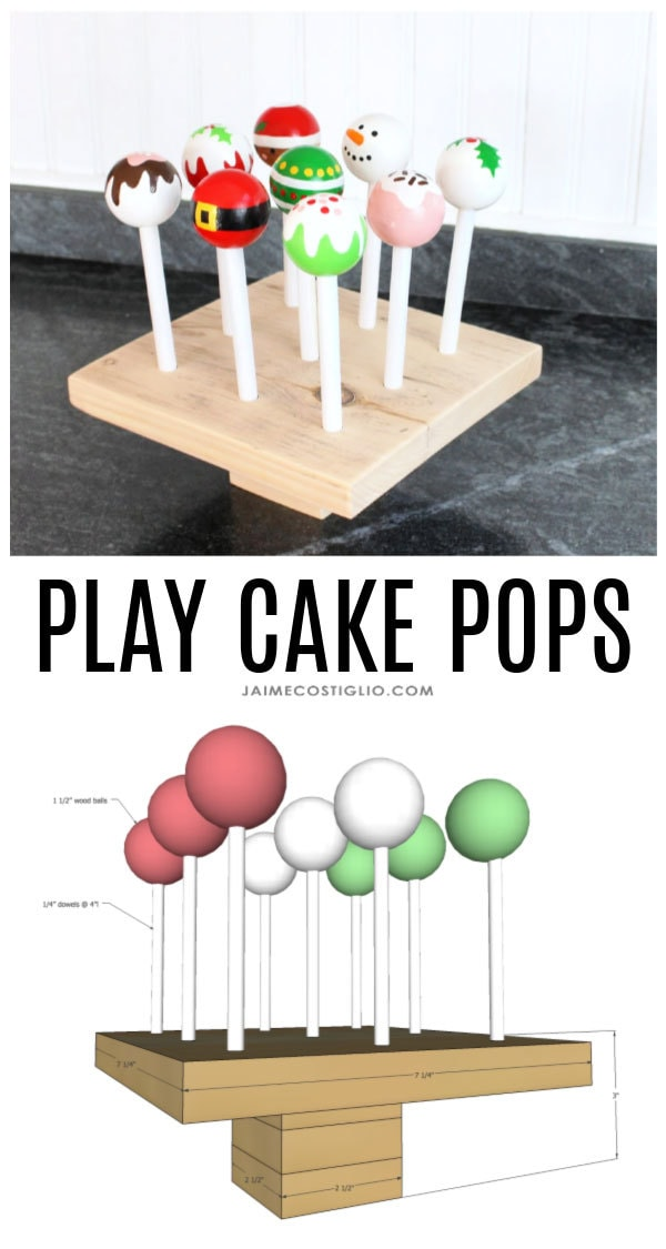 diy play cake pops free plans