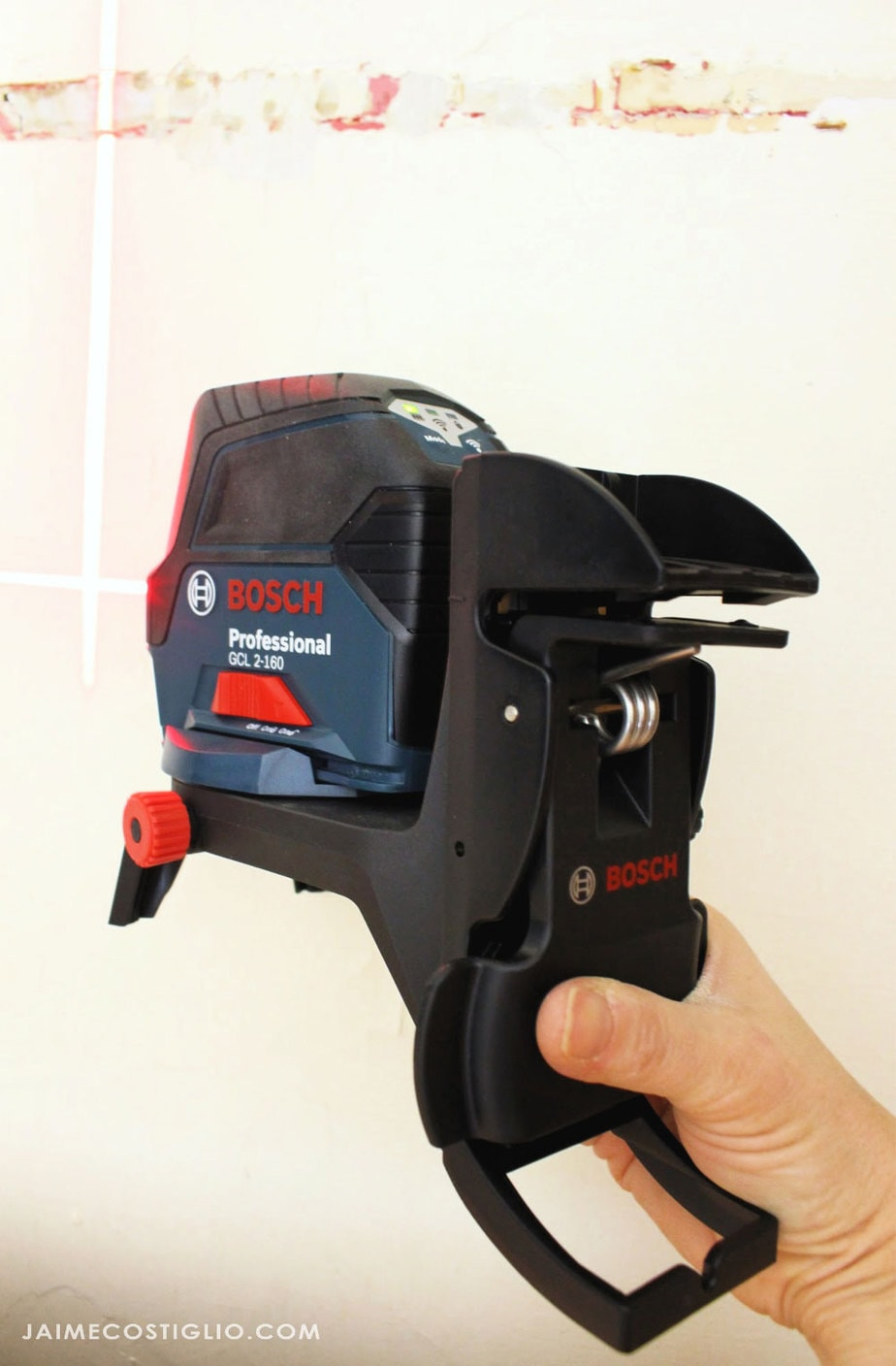 bosch 65' laser with clip attachment