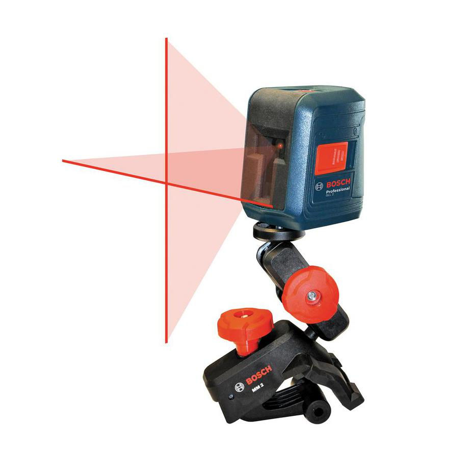 bosch 30' laser level with mounting attachment