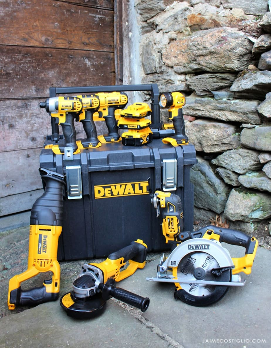 dewalt combo kit 8 tools