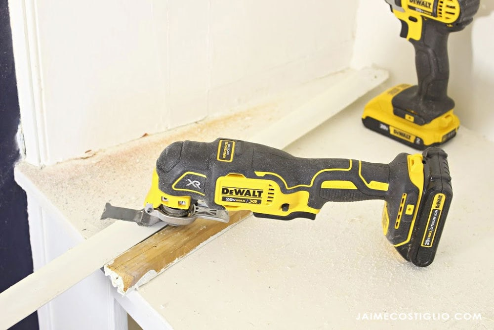 dewalt oscillating tool demo