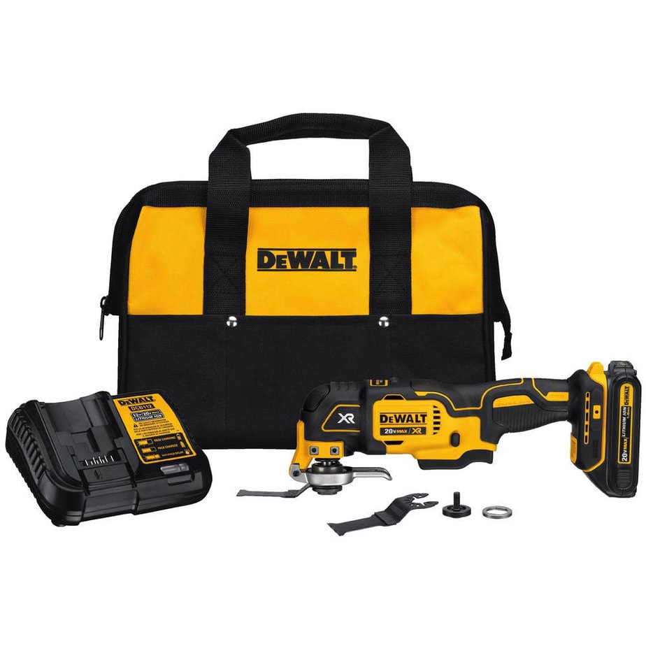dewalt cordless oscillating tool kit