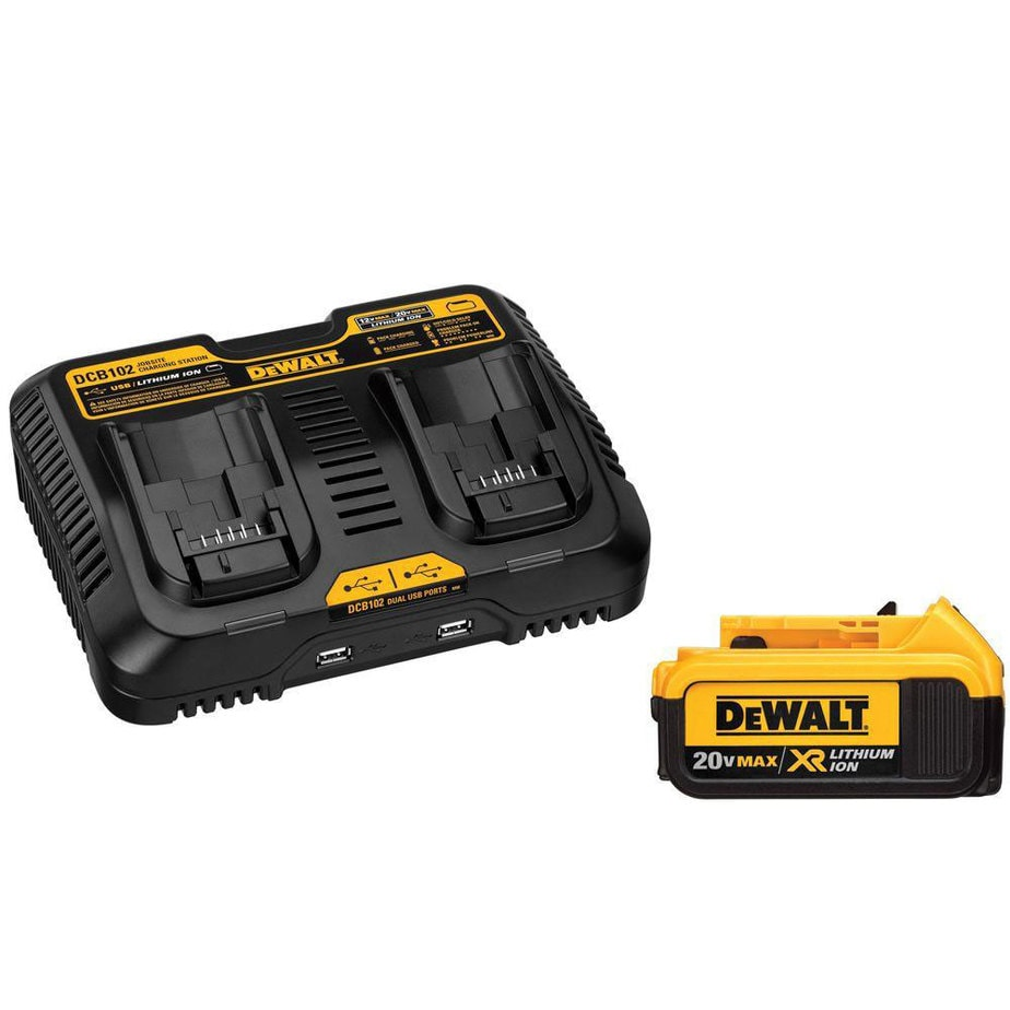dewalt battery pack charger