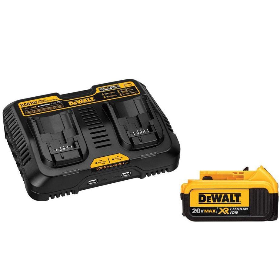 dewalt battery pack charger