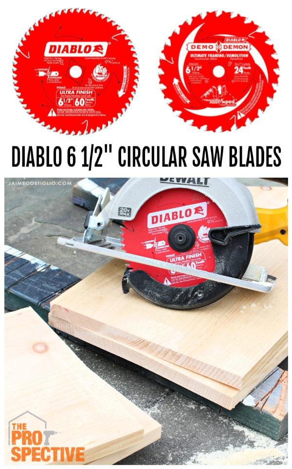 """diablo 6 1/2"""" circular saw blades"""
