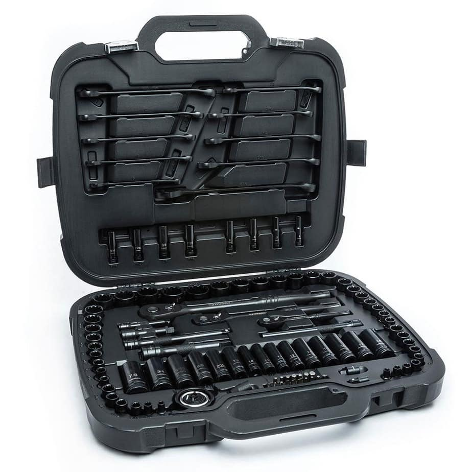 husky mechanics tool set storage case
