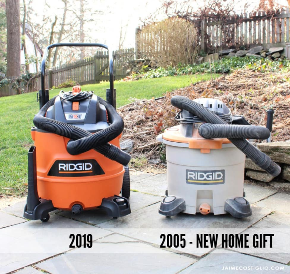 ridgid wet vac new home gift