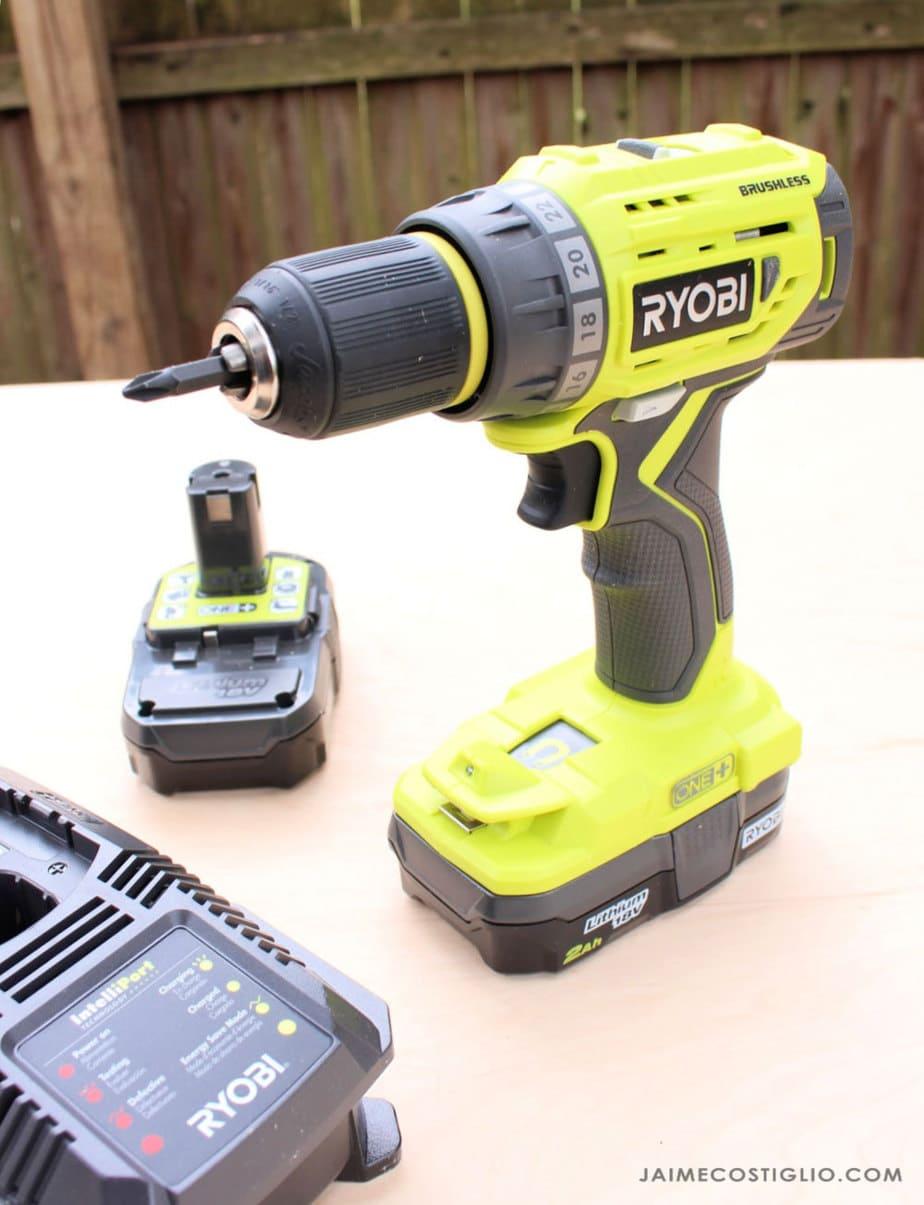 ryobi brushless drill kit