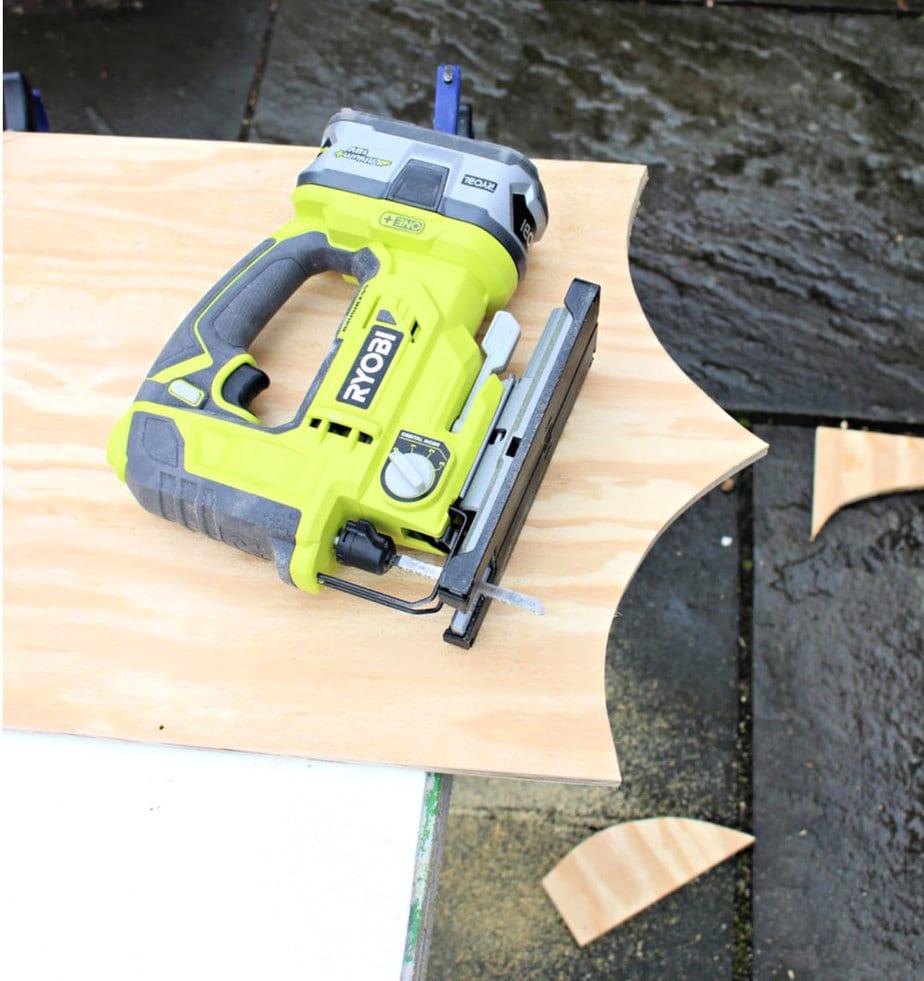 ryobi jigsaw cutting curves