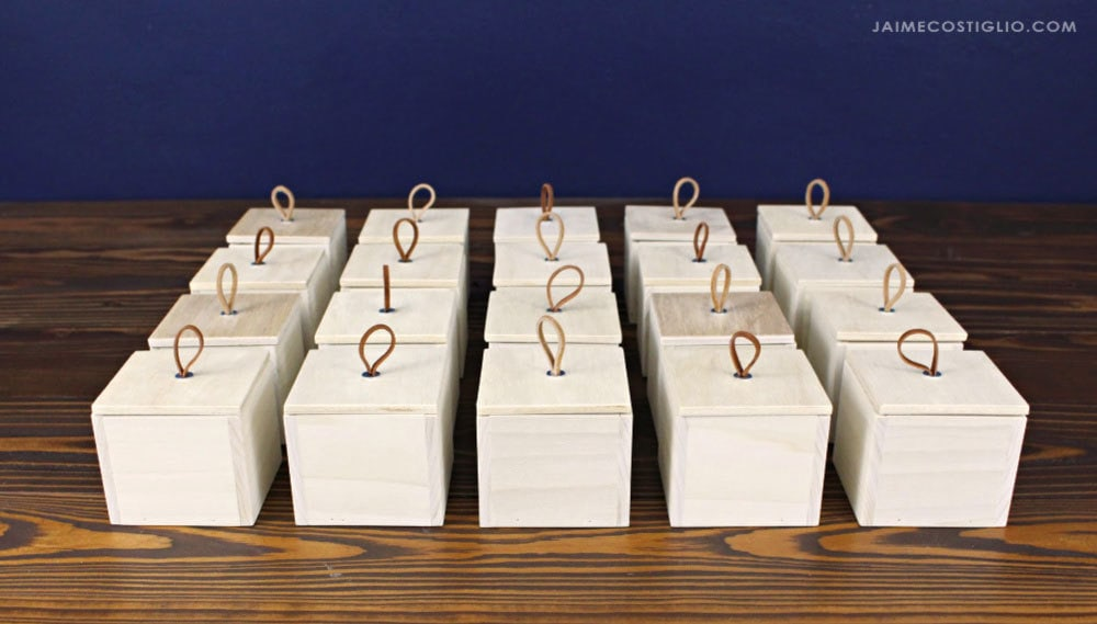 wood gift boxes with lids