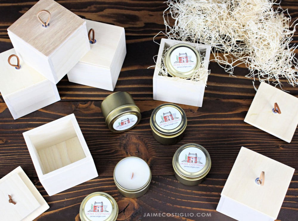 Diy Small Wood Gift Boxes With Lid Jaime Costiglio