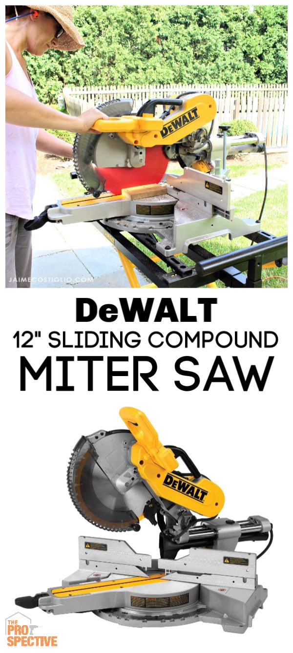 "dewalt 12"" compound miter saw"