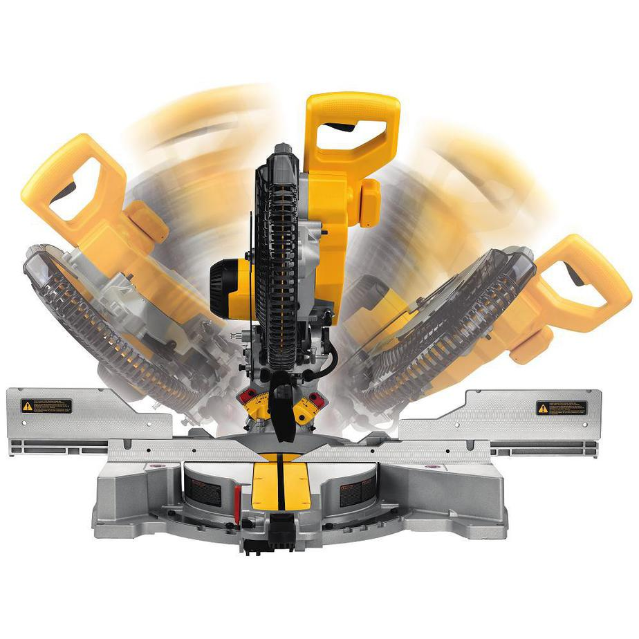 dewalt miter saw double bevel