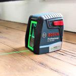 Bosch 40′ Green Cross Line Laser Level
