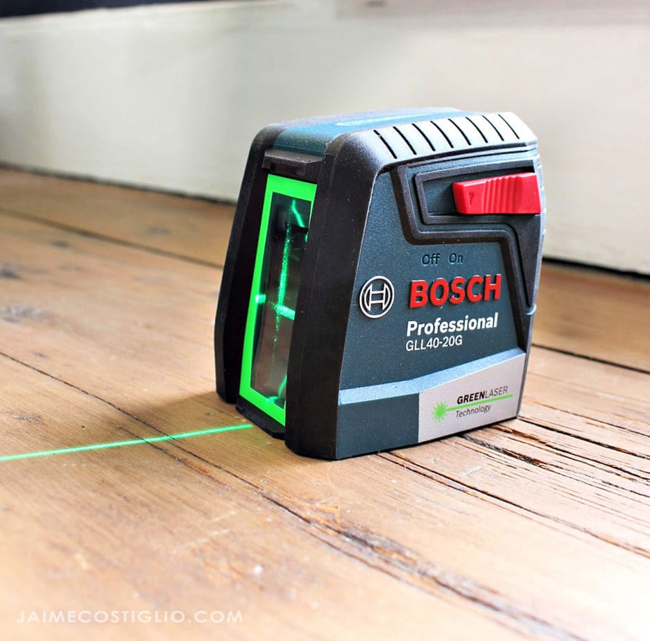bosch green laser level
